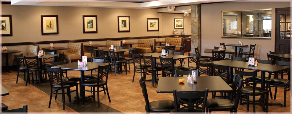 Dining room bar buffet